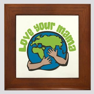 Love Your Mama Framed Tile
