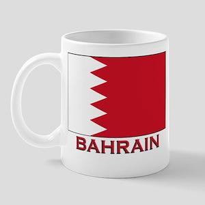 Bahrain Flag Merchandise Mug