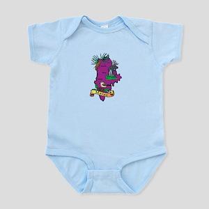Maine Map Infant Bodysuit