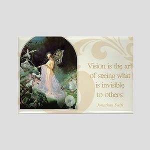 Fairy Queen Rectangle Magnet
