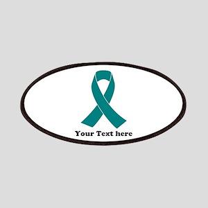 Teal Ribbon Awareness Patch