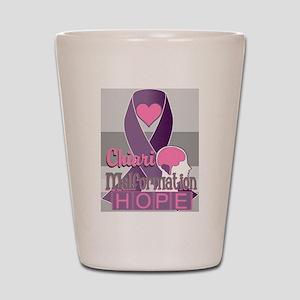 Chiari Malformation Hope Shot Glass