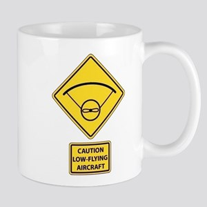 Caution Low Flying Aircraft Mug