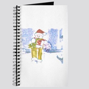 Snowman Wrap With Me. Journal