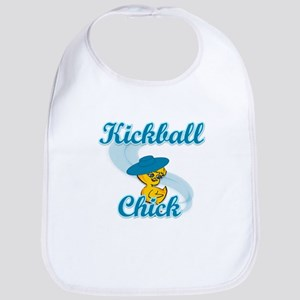 Kickball Chick #3 Bib
