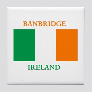 Banbridge Ireland Tile Coaster