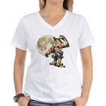 Werewaldo Women's V-Neck T-Shirt