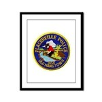 Placerville Police Framed Panel Print