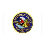 Placerville Police 35x21 Wall Decal