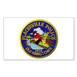 Placerville Police Sticker (Rectangle)