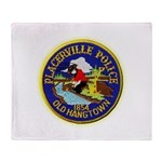Placerville Police Throw Blanket