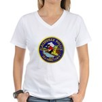 Placerville Police Women's V-Neck T-Shirt