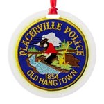 Placerville Police Round Ornament