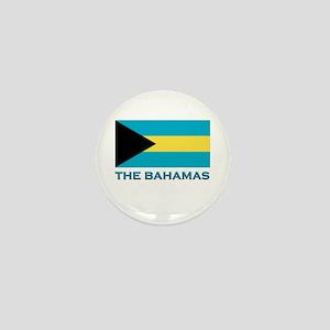 The Bahamas Flag Gear Mini Button