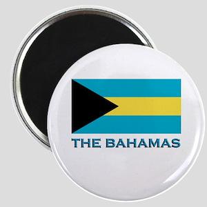 The Bahamas Flag Gear Magnet