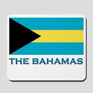 The Bahamas Flag Gear Mousepad