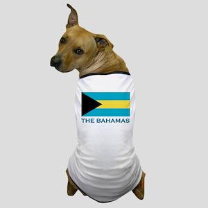 The Bahamas Flag Gear Dog T-Shirt