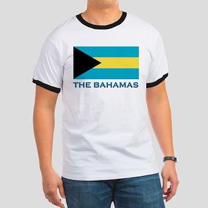 The Bahamas Flag Gear Ringer T