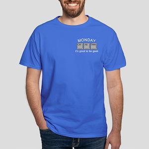 Monday Geek Computer Keys Dark T-Shirt