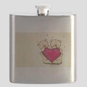teddybear love Flask