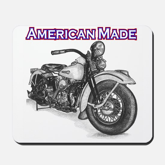 Harley Davidson Knucklehead 1947 right Mousepad