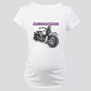 Harley Davidson Knucklehead 1947 right Maternity T