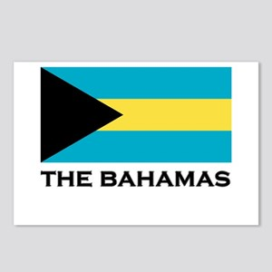 The Bahamas Flag Merchandise Postcards (Package of