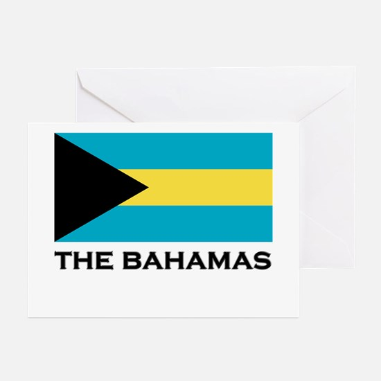 The Bahamas Flag Merchandise Greeting Cards (Packa