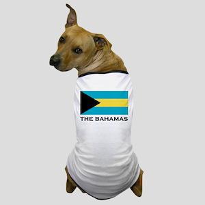 The Bahamas Flag Merchandise Dog T-Shirt
