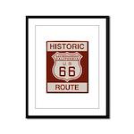 San Bernardino Route 66 Framed Panel Print