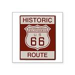 San Bernardino Route 66 Square Sticker 3