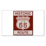San Bernardino Route 66 Sticker (Rectangle 50 pk)