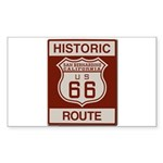 San Bernardino Route 66 Sticker (Rectangle 10 pk)