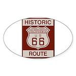 San Bernardino Route 66 Sticker (Oval 10 pk)