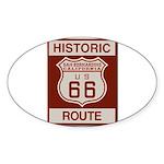 San Bernardino Route 66 Sticker (Oval)
