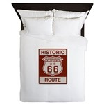 San Bernardino Route 66 Queen Duvet