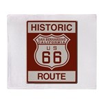 San Bernardino Route 66 Throw Blanket