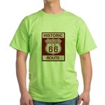 San Bernardino Route 66 Green T-Shirt