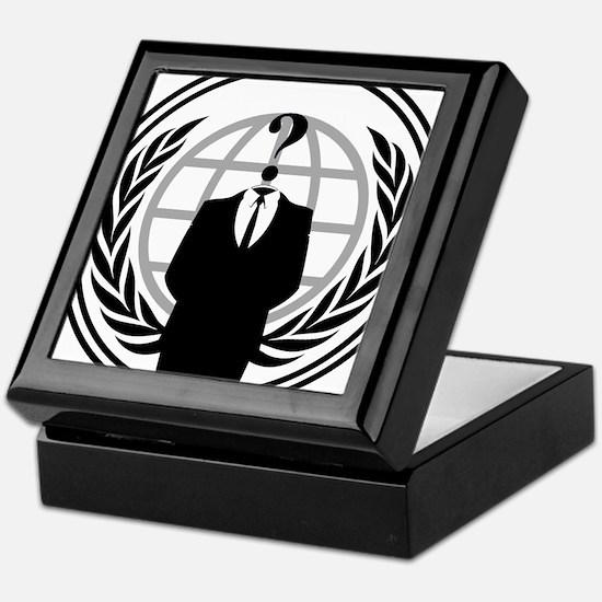 Anonymous Logo Keepsake Box
