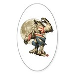 Werewaldo Sticker (Oval 10 pk)