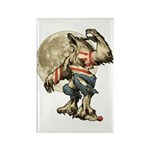 Werewaldo Rectangle Magnet (100 pack)