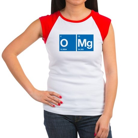 Oxygen Magnesium Periodic Table OMG Women's Cap Sl