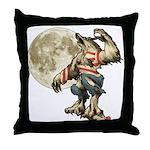 Werewaldo Throw Pillow