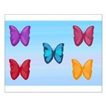 Butterflies in the Sky Small Poster
