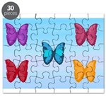 Butterflies in the Sky Puzzle