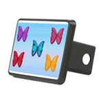 Butterflies in the Sky Rectangular Hitch Cover