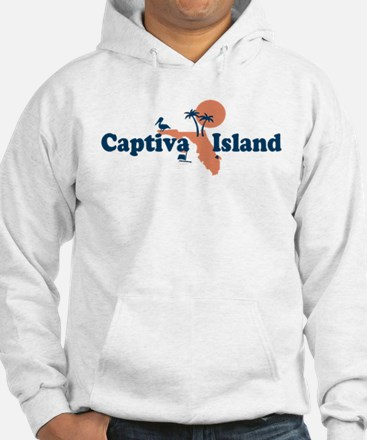Captiva Island - Map Design. Jumper Hoody