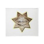 El Dorado County Sheriff Throw Blanket