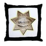 El Dorado County Sheriff Throw Pillow