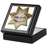 El Dorado County Sheriff Keepsake Box